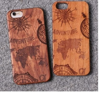 Natural Wood Adventure Case for iPhone 1