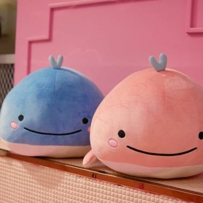Kid's Happy Whale Plush Toy 1