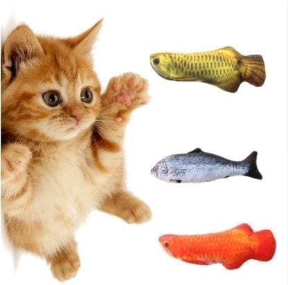 Pet's Realistic Fish Soft Toy 1