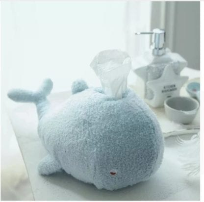 Kid's Plush Whale Napkin Holder 1