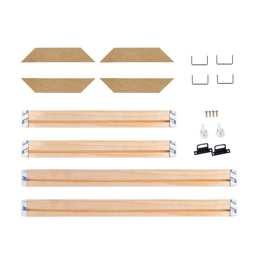 4Pcs Set Wood Frame Stretcher For Canvas and Paintings 14