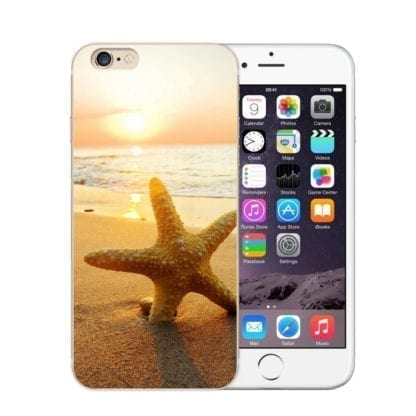 Beach Landscape Soft Phone Case for iPhone 3