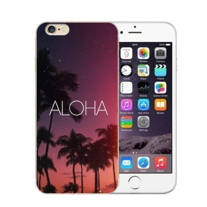 Beach Landscape Soft Phone Case for iPhone 5