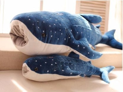 Giant Blue Whale Shark Plush Toy 2