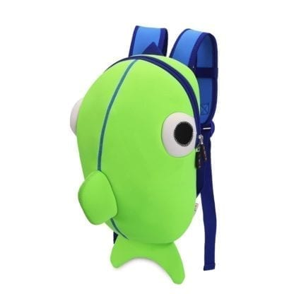 Kid's Cute Fish Colorful Backpack 4