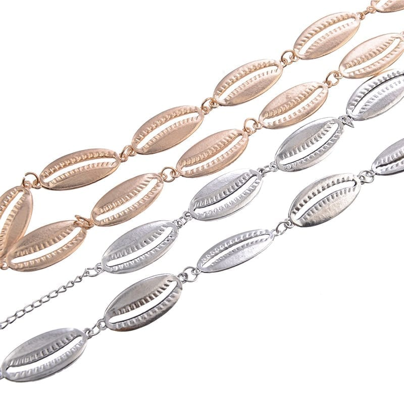 Summer Sexy Sea Shell Waist Belly Body Chains 6