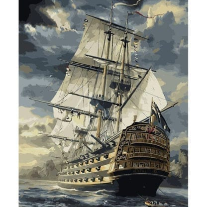 Ship Canvas Painting by Numbers 2