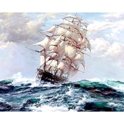 Ship Canvas Painting by Numbers 5