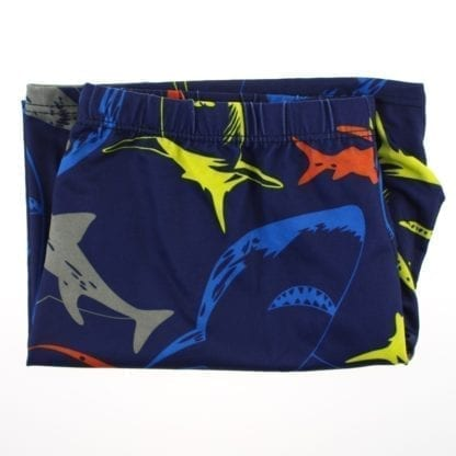 Men's Shark Print Swimming Briefs 5