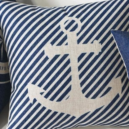 Marine Style Print Cushion Cover 4