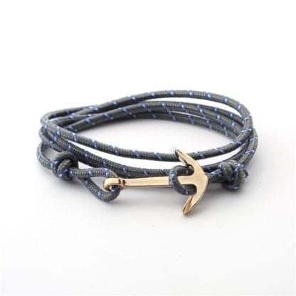 Men's Anchor Design Multilayer Bracelet 4