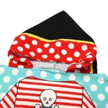 Kid's Shark / Pirate Style Hooded Towel 6