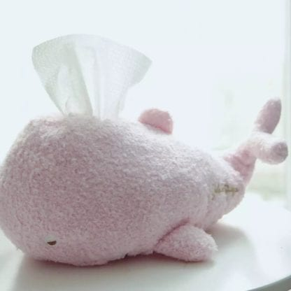 Kid's Plush Whale Napkin Holder 4