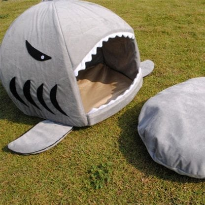 Pet's Shark Style Cotton Bed 3