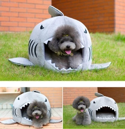 Pet's Shark Style Cotton Bed 2