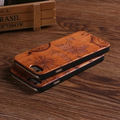 Natural Wood Adventure Case for iPhone 4