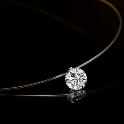 Simply Elegant Crystal Necklace 1