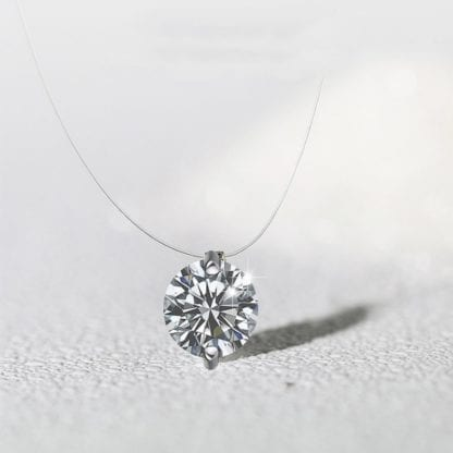 Simply Elegant Crystal Necklace 3