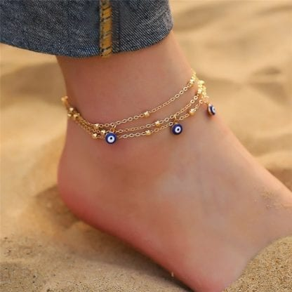 Bohemian Eye Anklets for Ocean Style 5