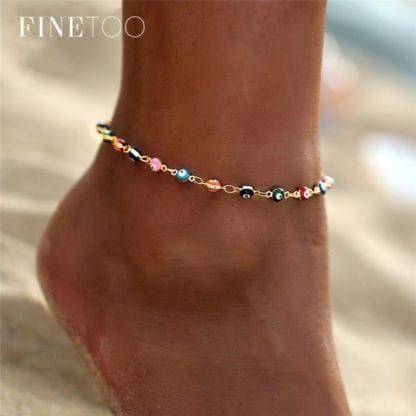 Bohemian Eye Anklets for Ocean Style 1