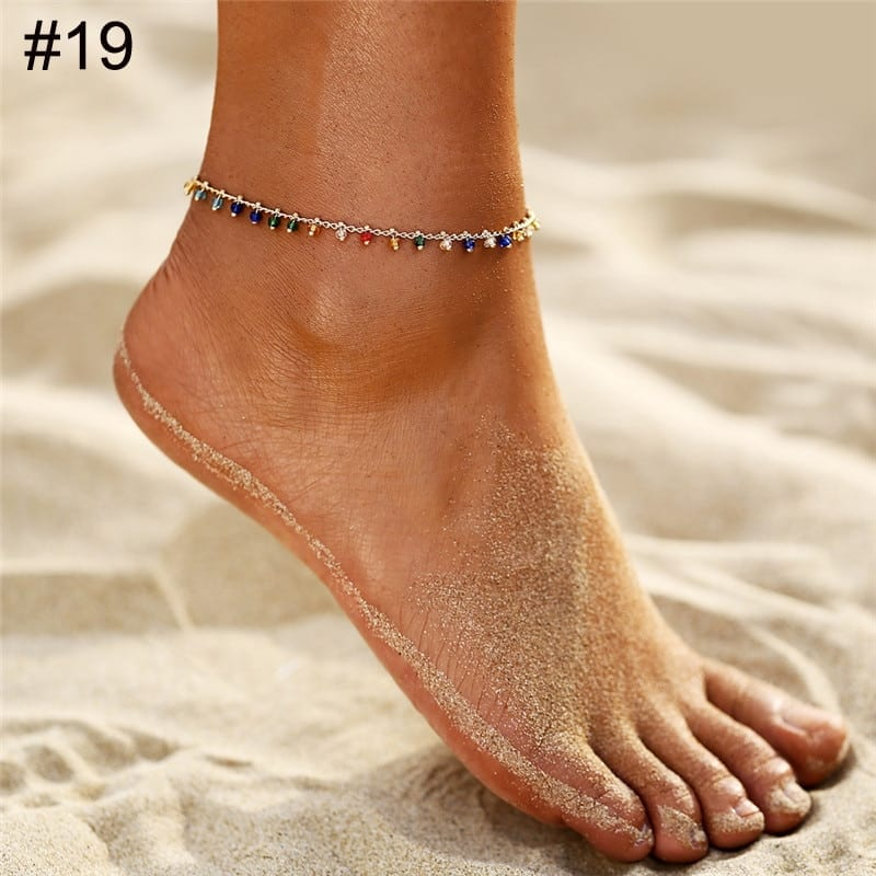 Bohemian Eye Anklets for Ocean Style 4