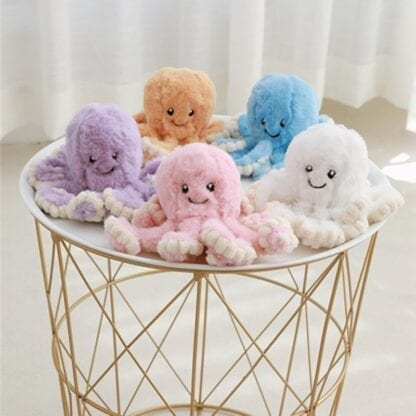 Push Soft Octopus Toy for Children 2