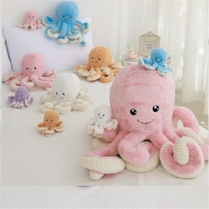 Push Soft Octopus Toy for Children 5